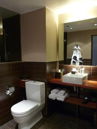 GLO Hotel Kluuvi Helsinki: Bathroom