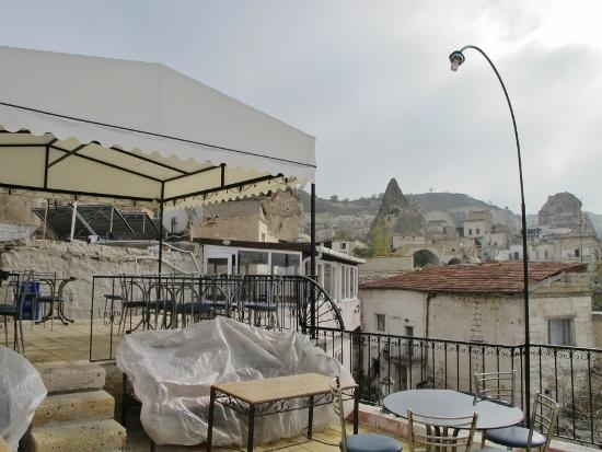 Caravanserai Cave Hotel: Rooftop terrace