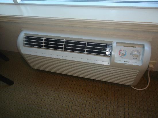Ramada Westlock: A new heater that blew cool air not hot.