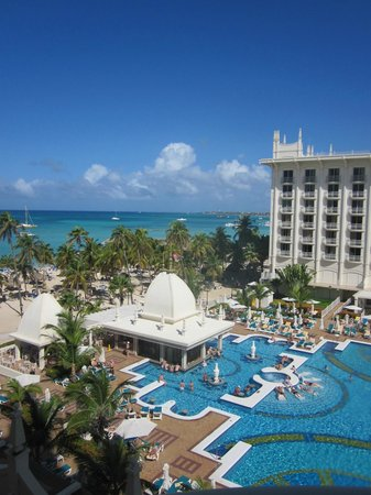 Hotel Riu Palace Aruba: A view from our balcony