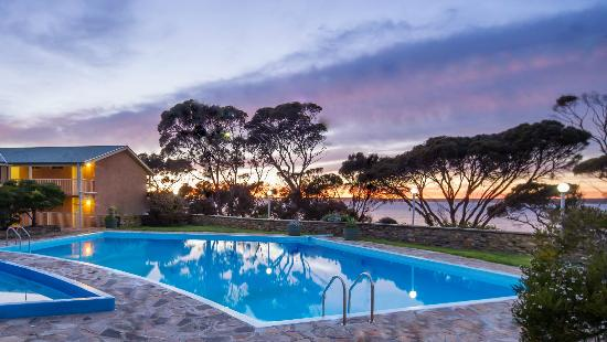 Mercure Kangaroo Island Lodge: Swimming pool