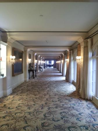 The Langham Huntington, Pasadena, Los Angeles: Elegant Hallways