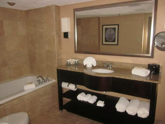 Crowne Plaza Indianapolis Airport: Bathroom