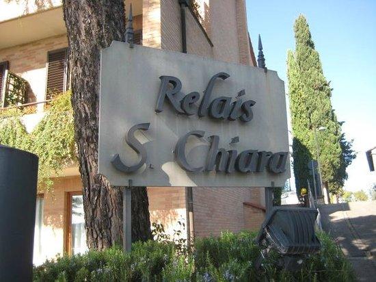 Relais Santa Chiara Hotel: Arrival