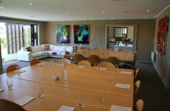Riverside Matakana: Conference Lounge and Executive Lounge with commanding views