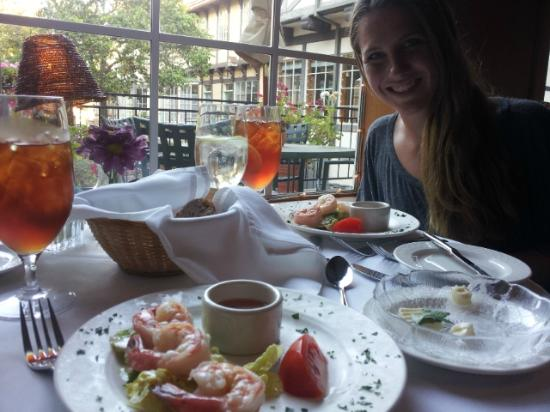 Cafe Provence at The Petersen Village Inn : Shrimp Cocktail