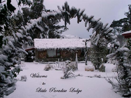 Little Paradise Lodge: Little Paradise in the winter