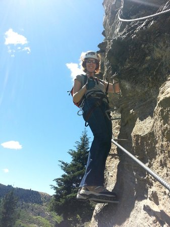 Climbing Queenstown: Two thumbs up!