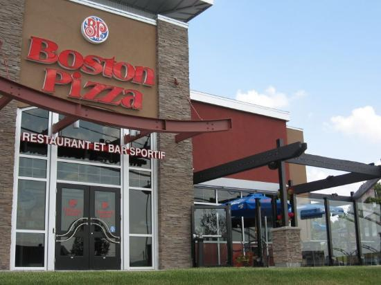 Boston pizza terrace 4924 highway 16 west restaurant for Terrace 45 restaurant