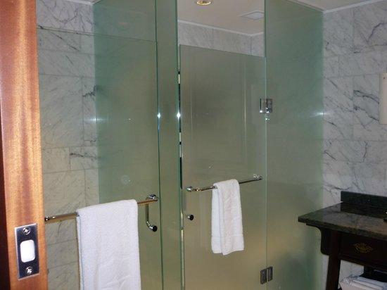 Shangri-La Hotel Toronto: Shower