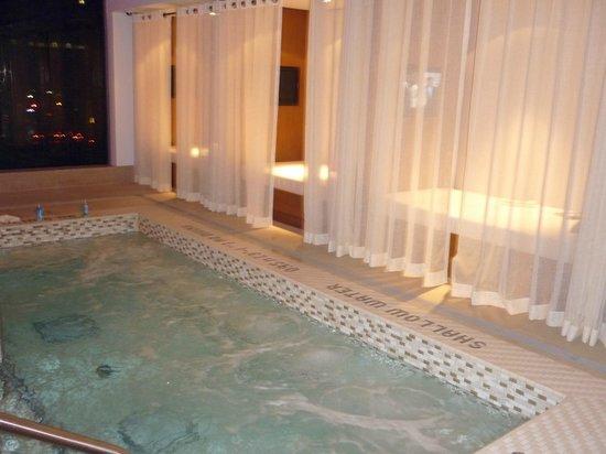 Shangri-La Hotel Toronto : Hot Tub & beds