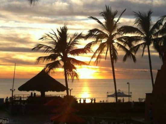 Royal Decameron Complex: sunset from room
