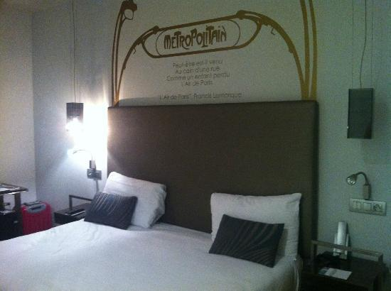 Eurostars Panorama Hotel: King bed