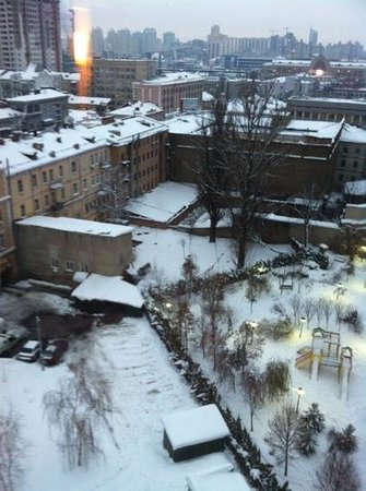 Ibis Kiev City Center: outside vue from the room