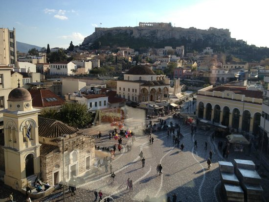 A for Athens: View from room 42