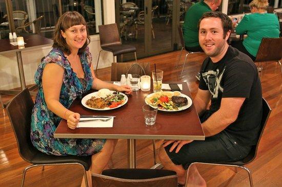Key Restaurant Maleny: Enjoying a wedding anniversary dinner!