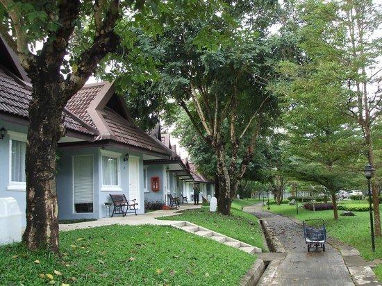 Amarin Resort: garden