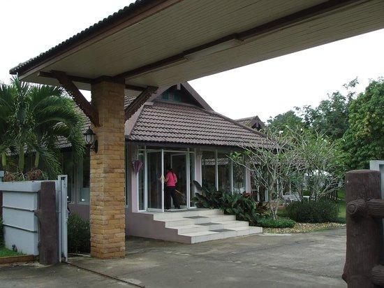 Amarin Resort: entrance