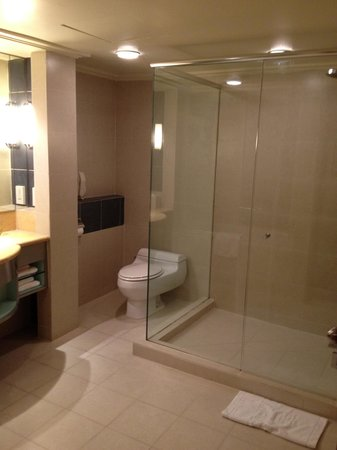 Good Size Bathroom With Shower Stall On One Side And Bathtub The Other Picture Of Concorde Hotel Kuala Lumpur Tripadvisor