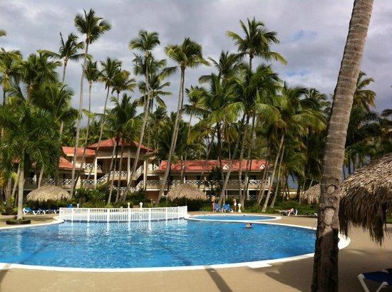 Vista Sol Punta Cana: Pool Nr 2, Blick auf Block 6