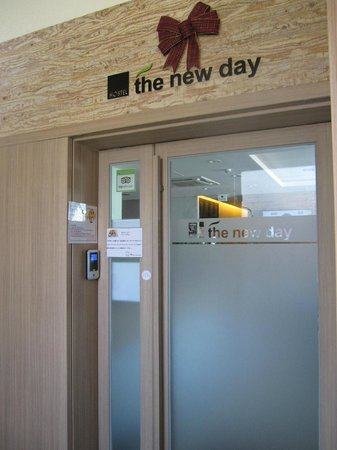 Hostel the new day: 5階入り口