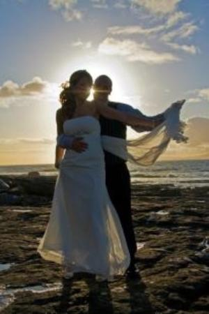 Creevy Pier Hotel: Autumn wedding