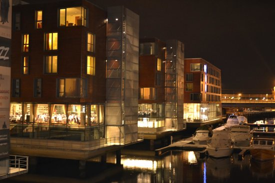 Scandic Nidelven: The Hotel from the bridge
