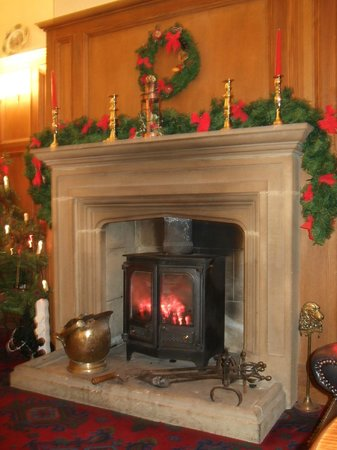 Dunsley Hall: Perfect for relaxing by the fire
