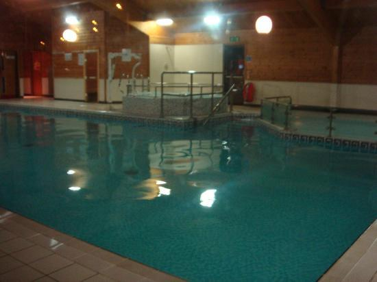 Carnforth, UK: in pool