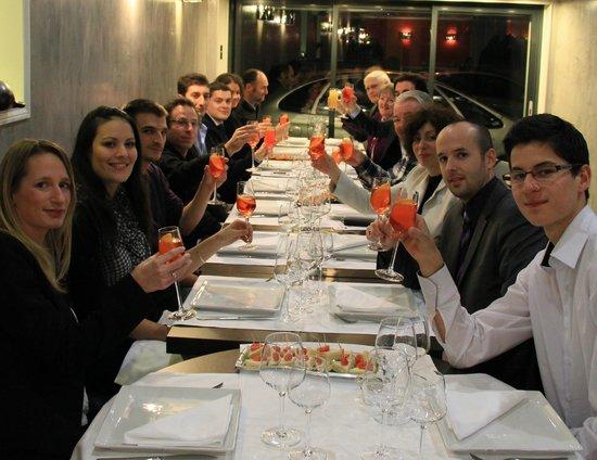Restaurant Le Chanzy : Dîner des Saint-Mauriens avec l'association Générations Saint-Maur