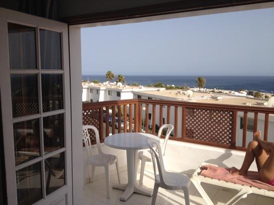Vista Mar Apartments: our top floor view
