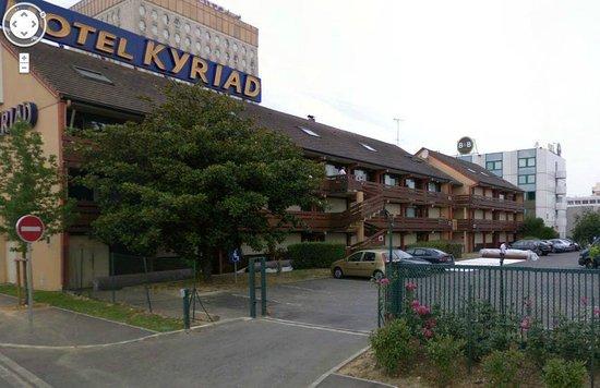 Kyriad Orly - Rungis : esterno hotel