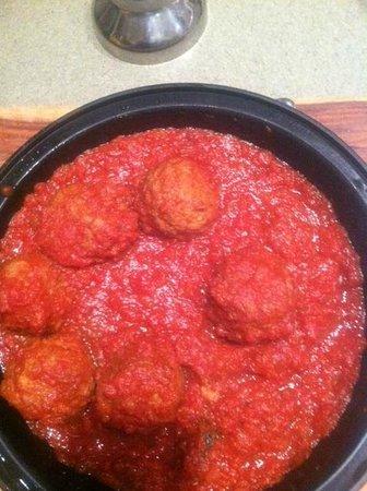 Joey D's Italian Grill: Joey D's meatballs....