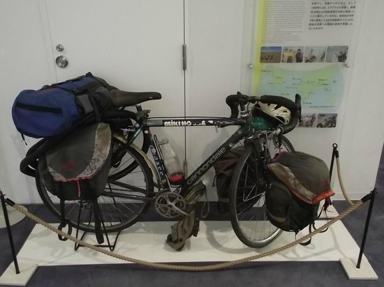 Bicycle Museum: 平成11年に世界一周した2台の自転車の内の1台
