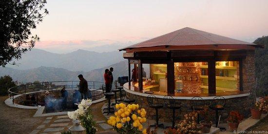 Pataleban Vineyard Resort : Kafal choutari (BBQ station)