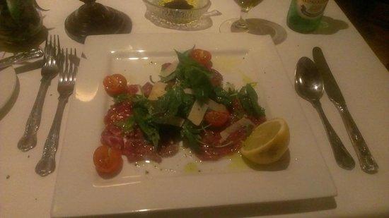 Bistro Italiano: Forret capaccio