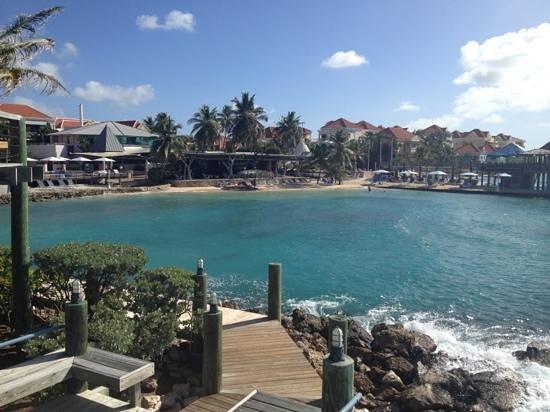 Avila Beach Hotel: uitzicht over hotel