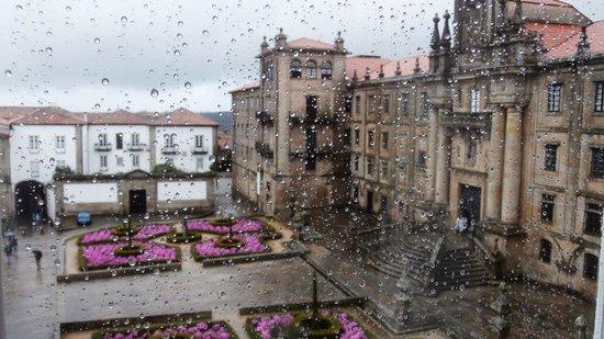 Apartments Casa de la Inmaculada: Desde nuestra ventana del dormitorio