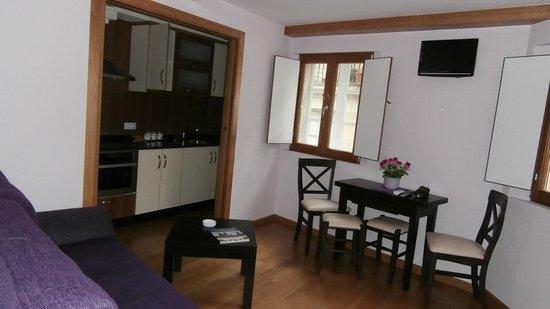 Apartments Casa de la Inmaculada: Nuestro precisoso mini salón-cocina