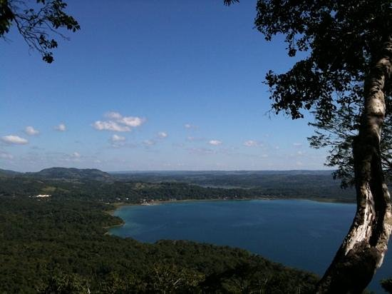 Cerro Biotope Cahui:                   Had a great hike and enjoyed this awesome view of Lake Peten Itza it was worth