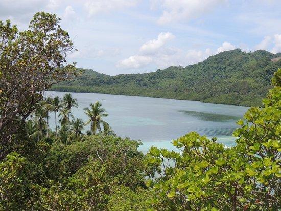 Snake Island (Vigan Island): snake beach desde el mirador