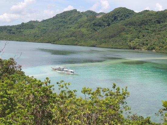 Snake Island (Vigan Island): snake beach tambien desde el mirador