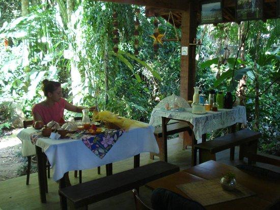 Pousada Ouro Verde: Desayunando a lo grande!!!