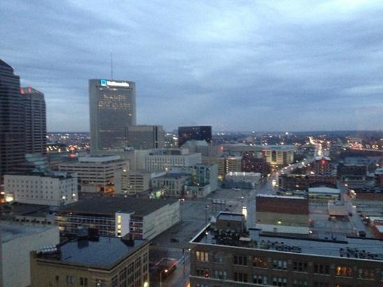 Renaissance Columbus Downtown Hotel: View from room on 20th Floor