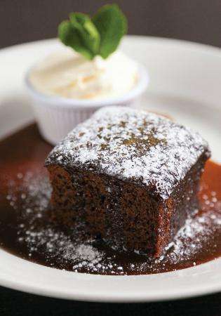 Mildreds: Stickey toffee pudding