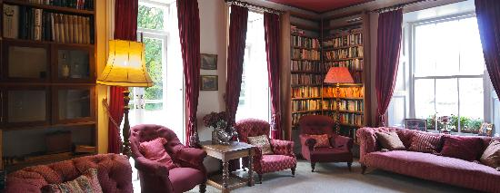 Delphi Lodge Country House : The Delphi Lodge Library - perfect for relaxation