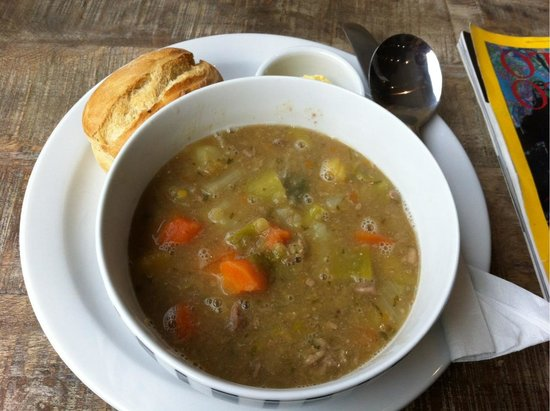 The Cove: Wales soup