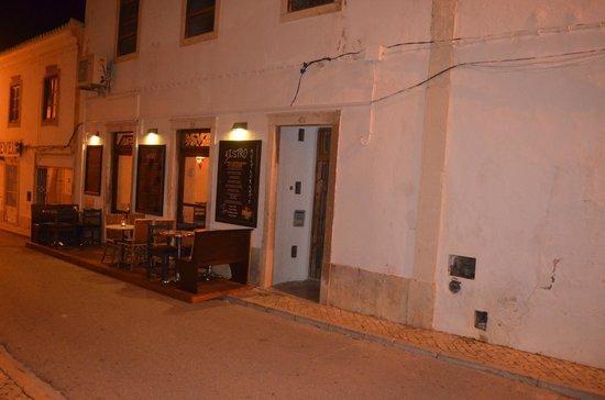 Bistro : Stille winter avond in Albufeira