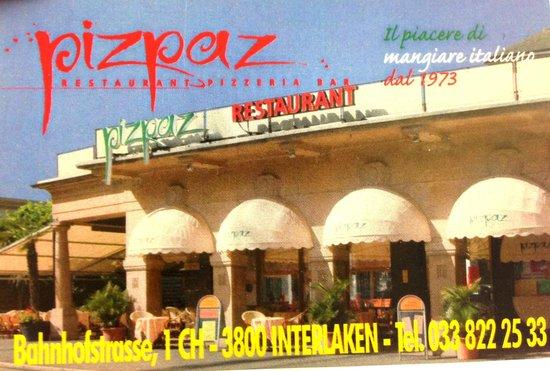 Restaurent Piz Paz : Pizzeria PizPaz