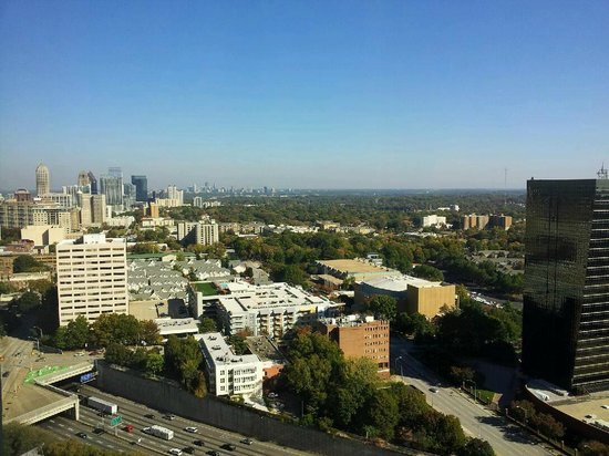 Hilton Atlanta: View from Executive Level Suite